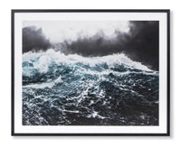 Atlantic Storm Framed Wall Art Print