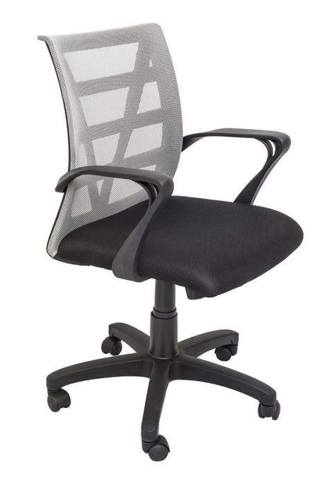 Avail Ergonomic Mesh Office Chair - Black Grey