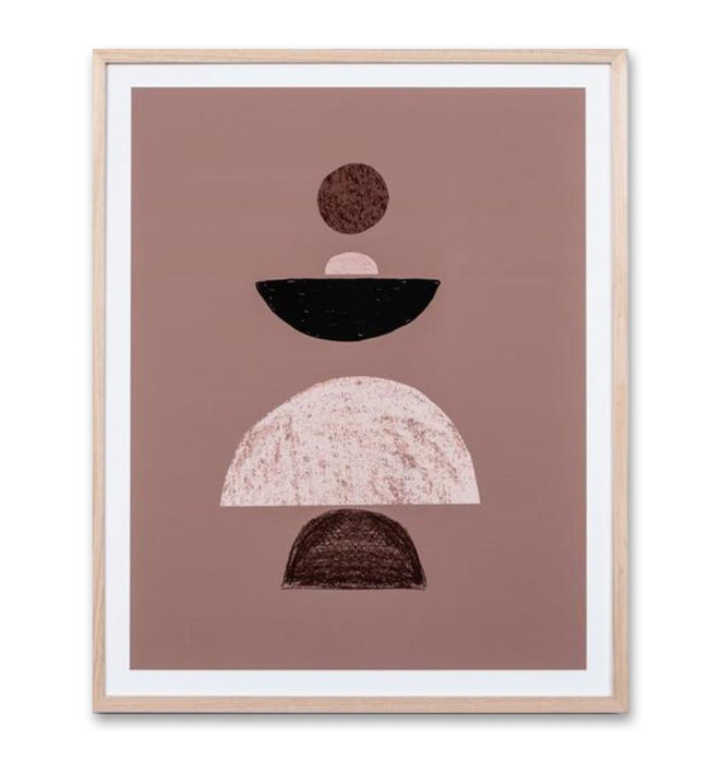 Balance Clay 2 Wall Art Print