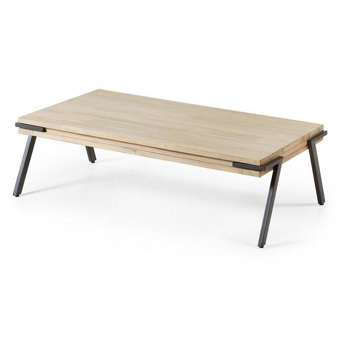 Disset 125cm Wooden Coffee Table
