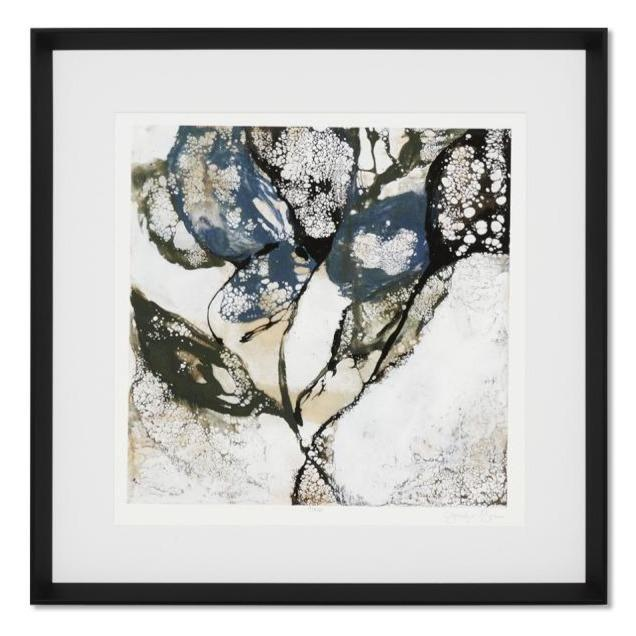 Crackled Stems 2 Framed Wall Art Print