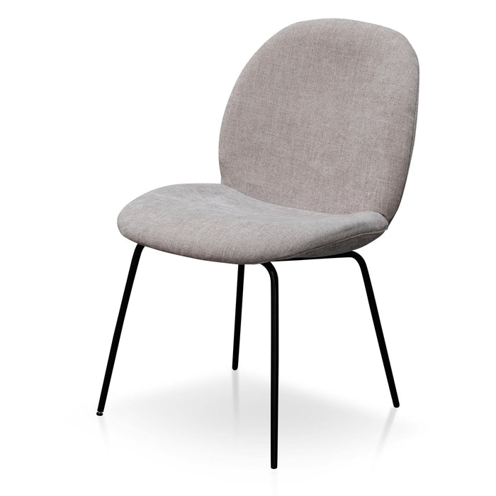 Willis Fabric Dining Chair - Oyster Beige