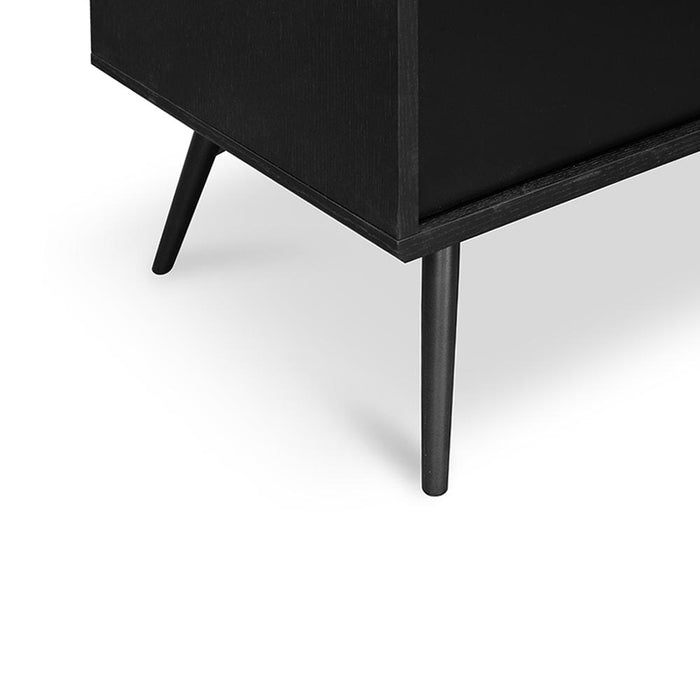 Nelson Wooden Buffet Unit - Black