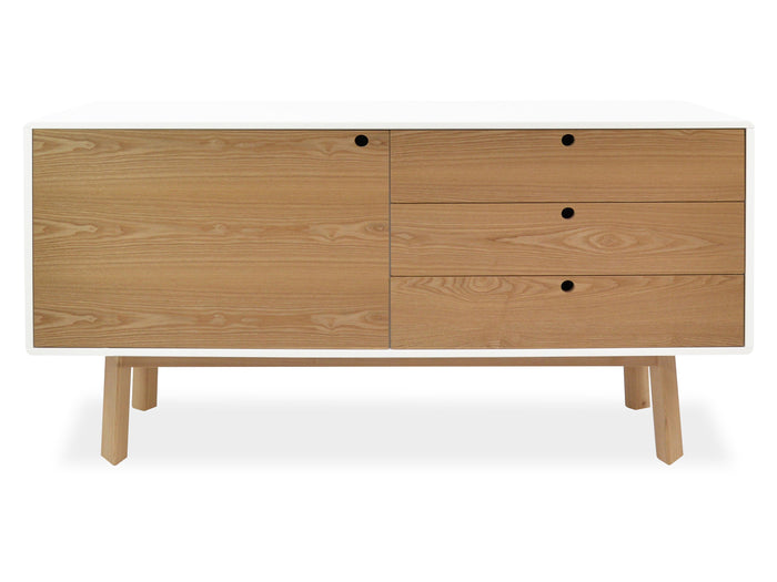 Irene 1.6m Scandianavian Sideboard Buffet Unit