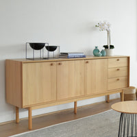 Kenston Wooden Sideboard and Buffet - Natural
