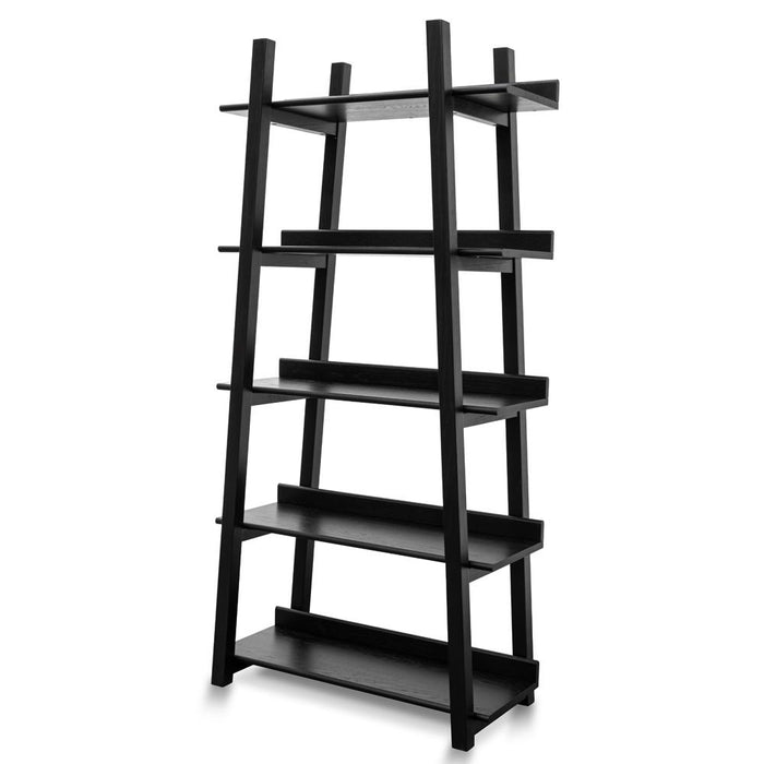 Mayson Bookshelf - Black Oak