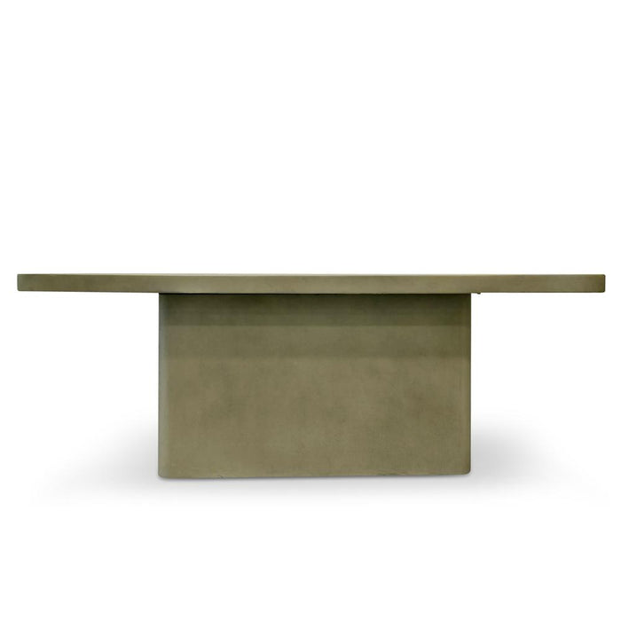 Huston 2m Rectangle Dining Table - Grey