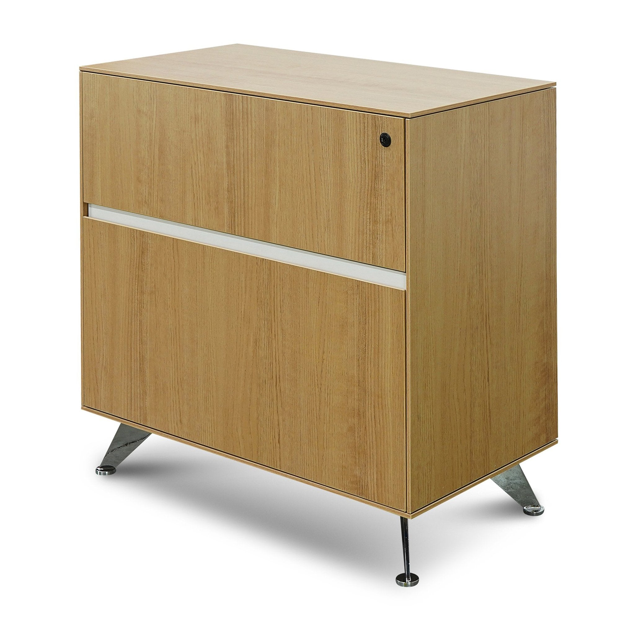 Picture of: Excel 2 Drawer Lateral Wooden Filing Cabinet Natural Interior Secrets