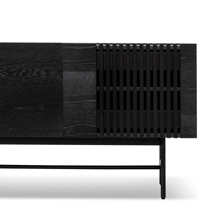 Onito 120cm Wooden Buffet Unit - Full Black