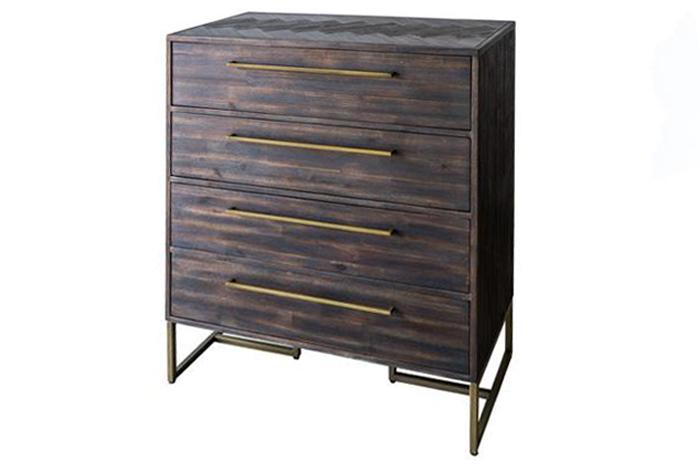 Roma Tallboy Drawer/ Sideboard - Walnut