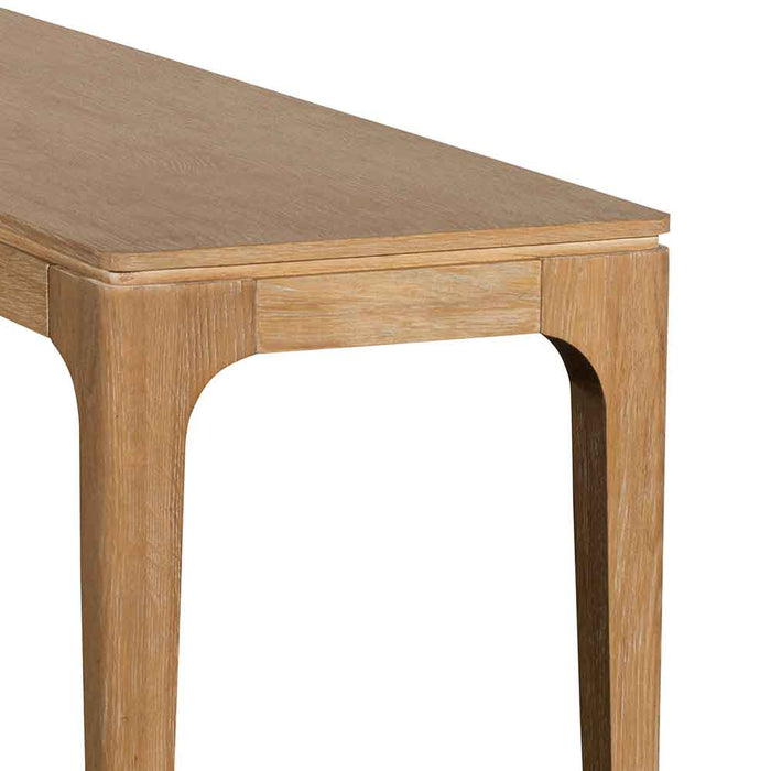 Tamia 1.4m Oak Console Table - Natural