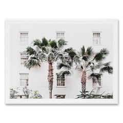 Palm Resort Wall Art Print
