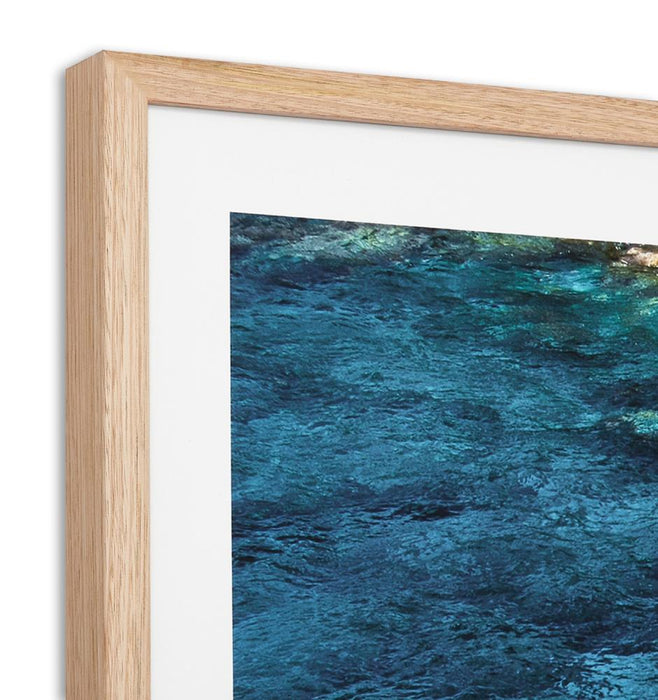 Azure Waters Wall Art Print