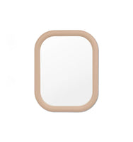 Gertrude 100cm Rounded Rectangular Mirror - Taupe