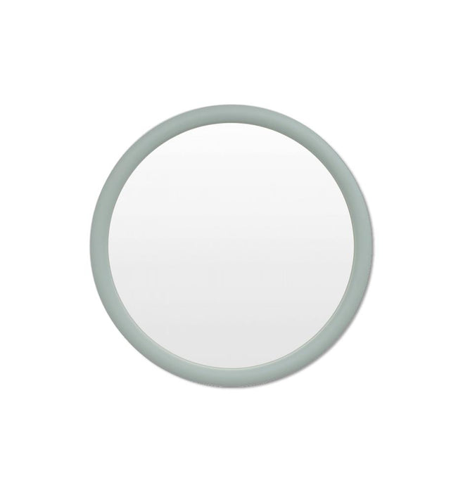 Gertrude 80cm Round Mirror - Dusty Blue