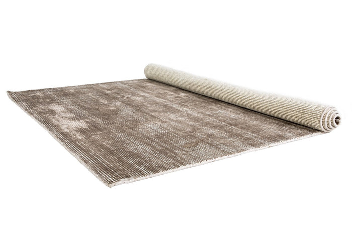 Hover Taupe and White Rug 155 x 225cm