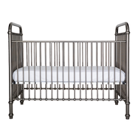 Dominic Aluminium Baby Cot  - Chrome