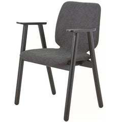 Echo Fabric Armchair in Dark grey