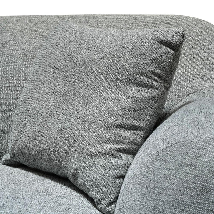 Lester 3 Seater Fabric Sofa - Grey