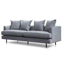 Andre 3 Seater Sofa - Graphite Grey