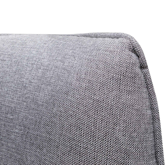 Chapman 2 Seater Fabric Sofa- Graphite Grey