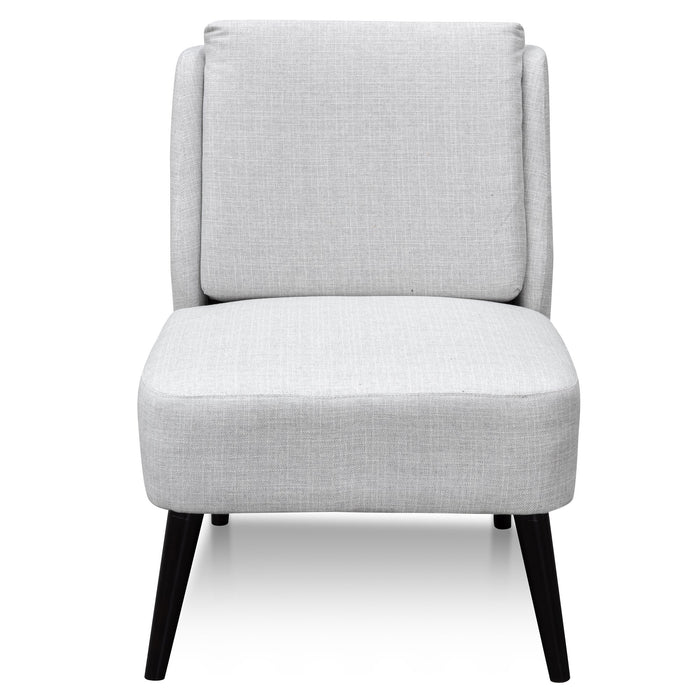 Joyce Fabric Lounge Chair - Harbour Grey