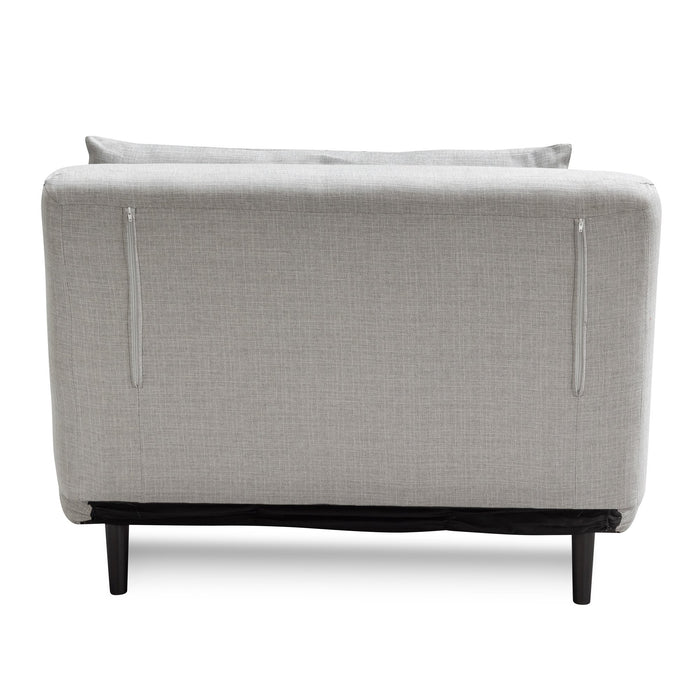 Terence Fabric Sofa Bed - Harbour Grey
