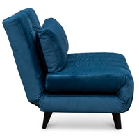 Zach Sofa Bed - Azure Blue