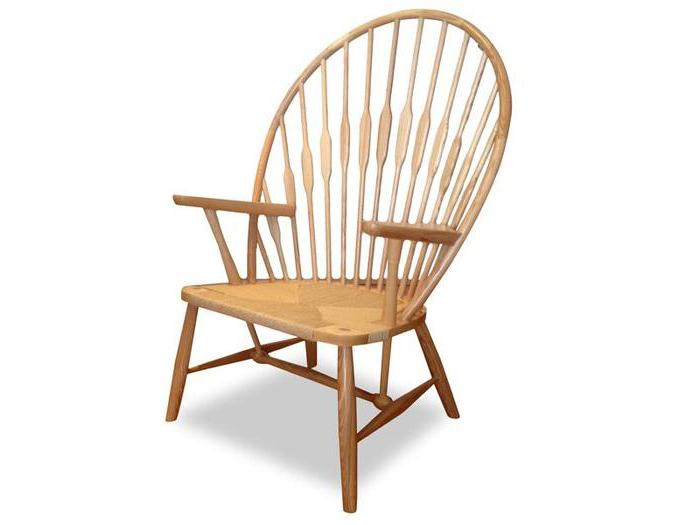 Willow Peacock Lounge Chair - Natural