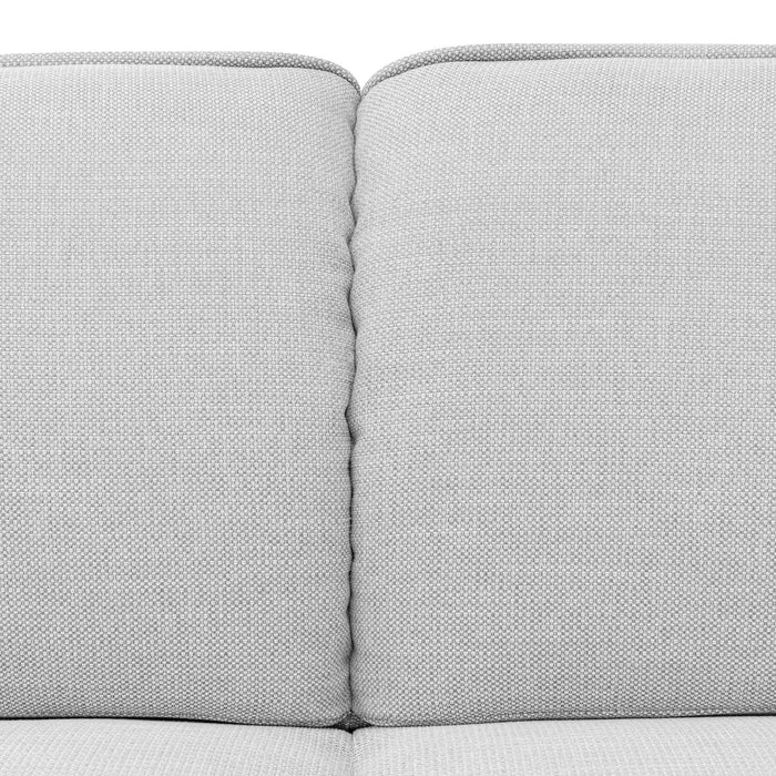 Chapman 2 Seater Fabric Sofa - Light Texture Grey LC6092-KSO