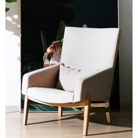 Ex display - Raymond Lounge Chair - Beige