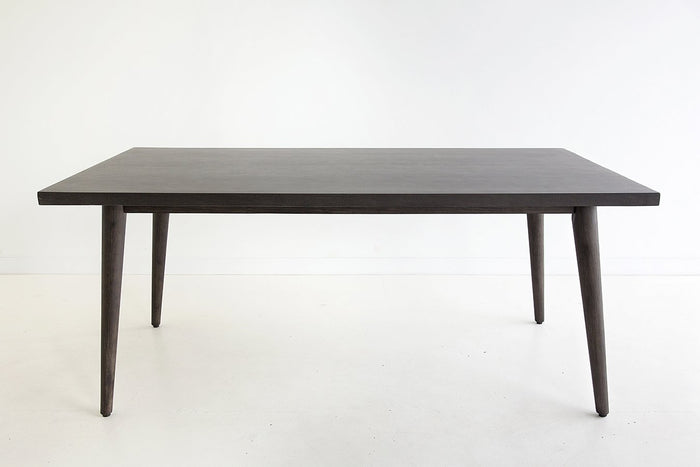 Aslan 1.8m Indoor/Outdoor Dining Table - Black