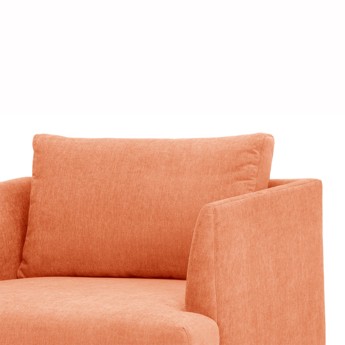 Denmark Armchair - Dusty Peach