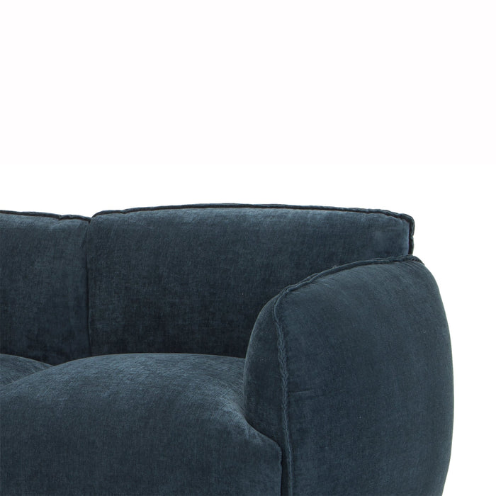 Dane 3 Seater Sofa in Dusty Blue