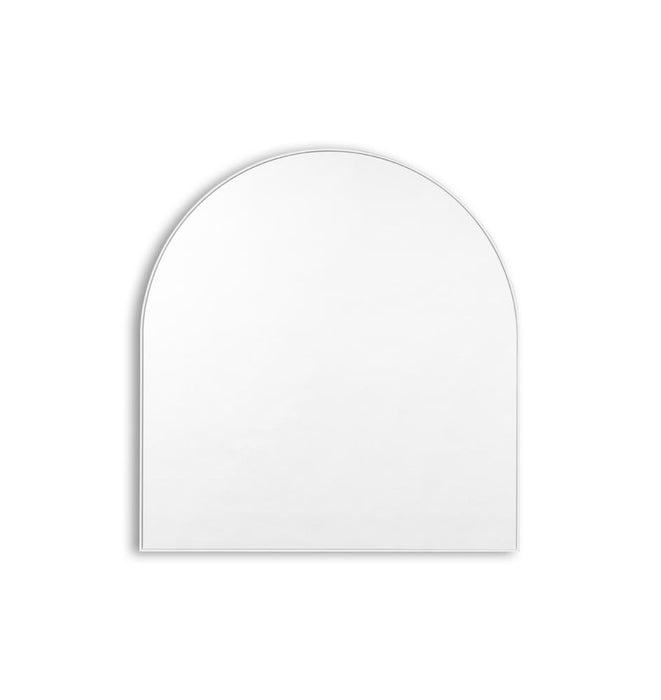 Bjorn Arch Mirror - Bright White