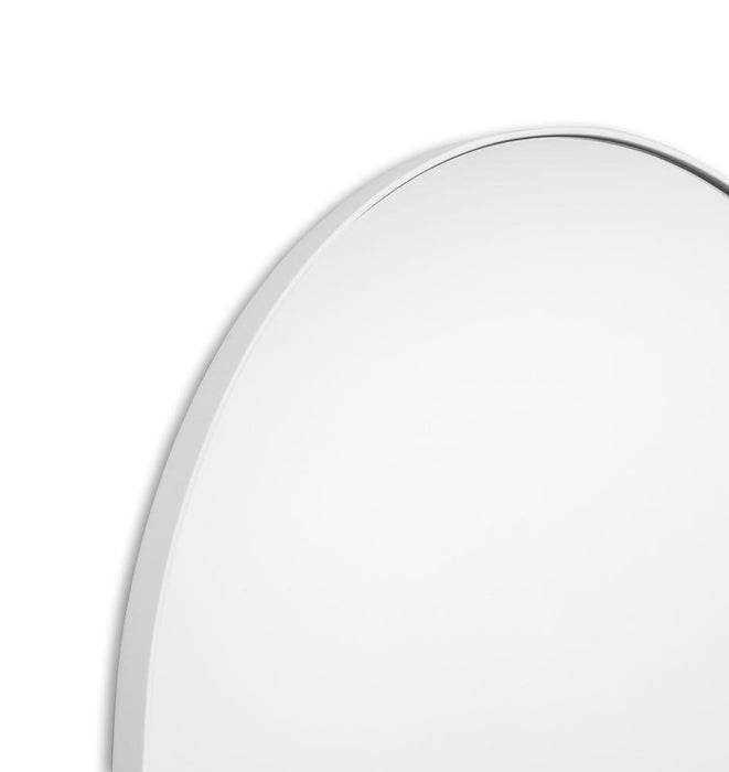 Bjorn Arch Oversized Mirror - White