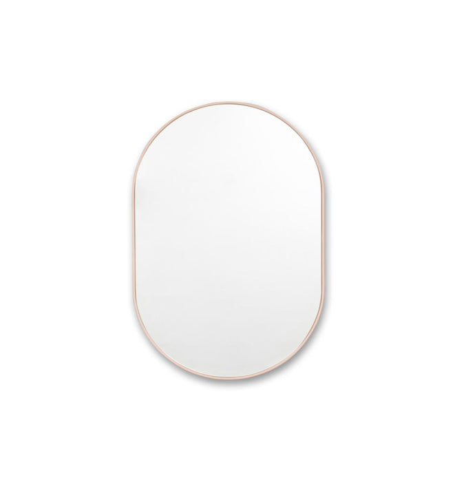 Bjorn Medium Oval Mirror - Blush