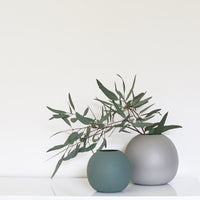 Cloud Bubble 20cm Ceramic Vase - Dove Grey