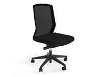 Motion Sync Mesh Ergonomic Office Chair - Black