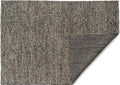 Maple 190cm x 280cm Wool Rug - Charcoal Grey