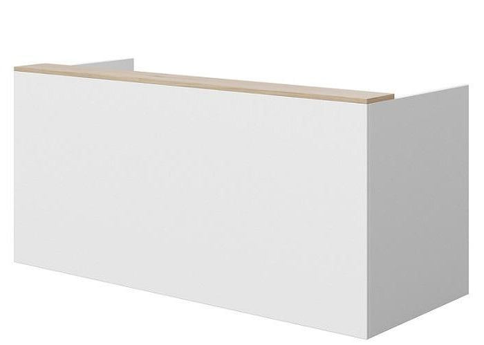 Mies Reception Counter - White