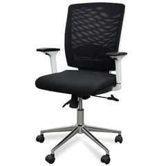 Hass Office Chair-White Back