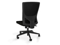 Optic Mesh Ergonomic Office Chair - Black
