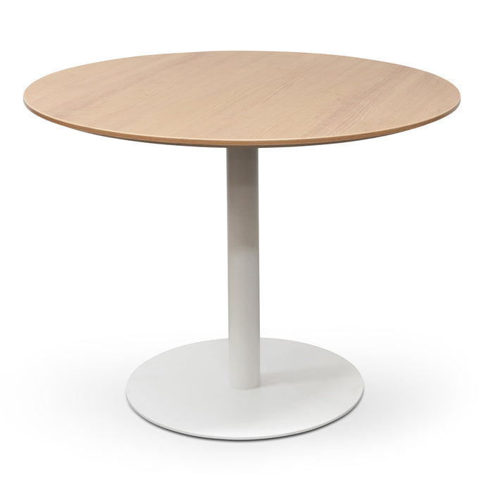 Scope Round Office Meeting Table - Natural
