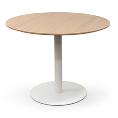 Lupe Scope Round Office Meeting Table - Natural