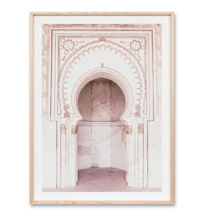 Palace Entrance Wall Art Print