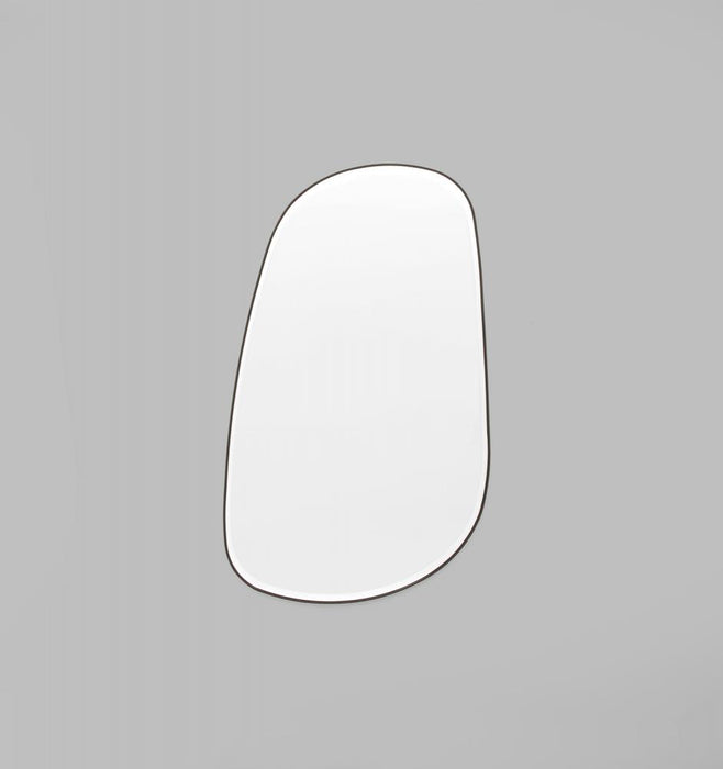 Pebble 150cm Organic Shaped Mirror - Black