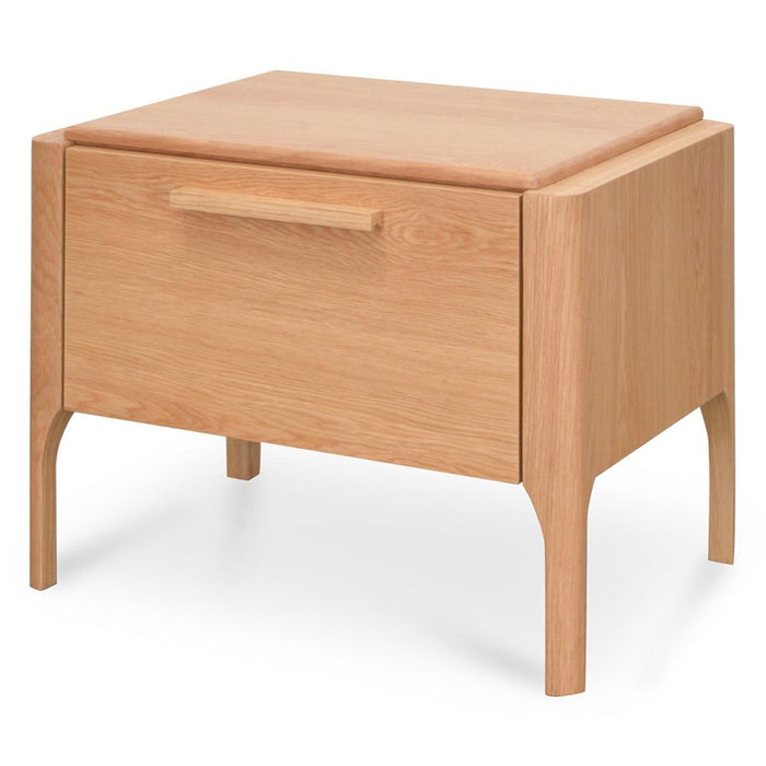 Ex Display - Mayson Bedside Table - Natural Oak