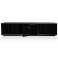 Dahlia 2m Wooden TV Entertainment Unit - Black
