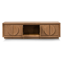 Bonnie 2m TV Entertainment Unit - Dusty Oak